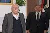 رأفت يلتقي سفير جمهورية مصر العربية ويبحث معه آخر التطورات السياسية والمستجدات على الأرض