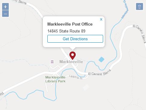 Markleeville Post Office