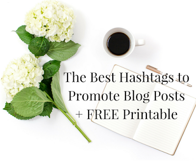Blogger's Guide to Hashtags - The Best Hashtags to Promote Posts on Social Media
