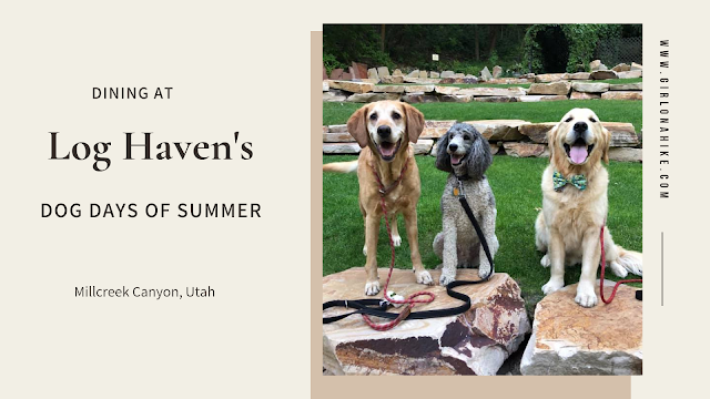 Dining at Log Haven's the Dogs Days of Summer