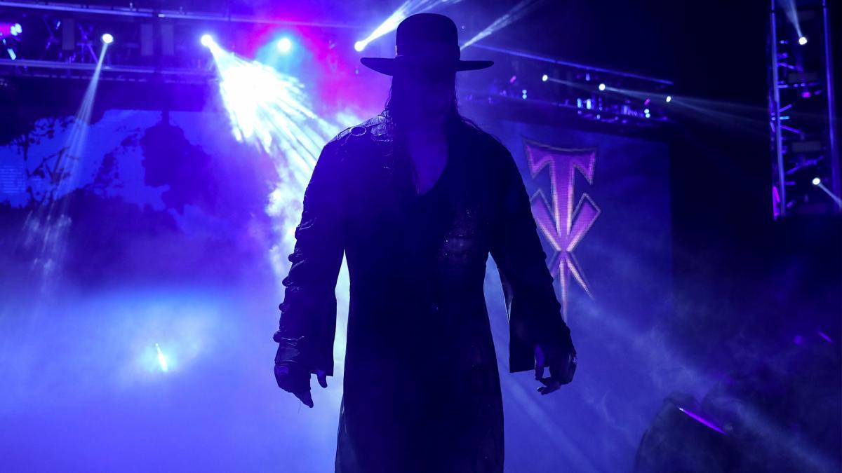 The Undertaker in WWE Survivor Series 2020