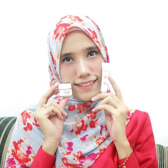 ElsheSkin Lip Sugar Scrub & Lip Serum; Mengatasi Bibir Hitam & Kering