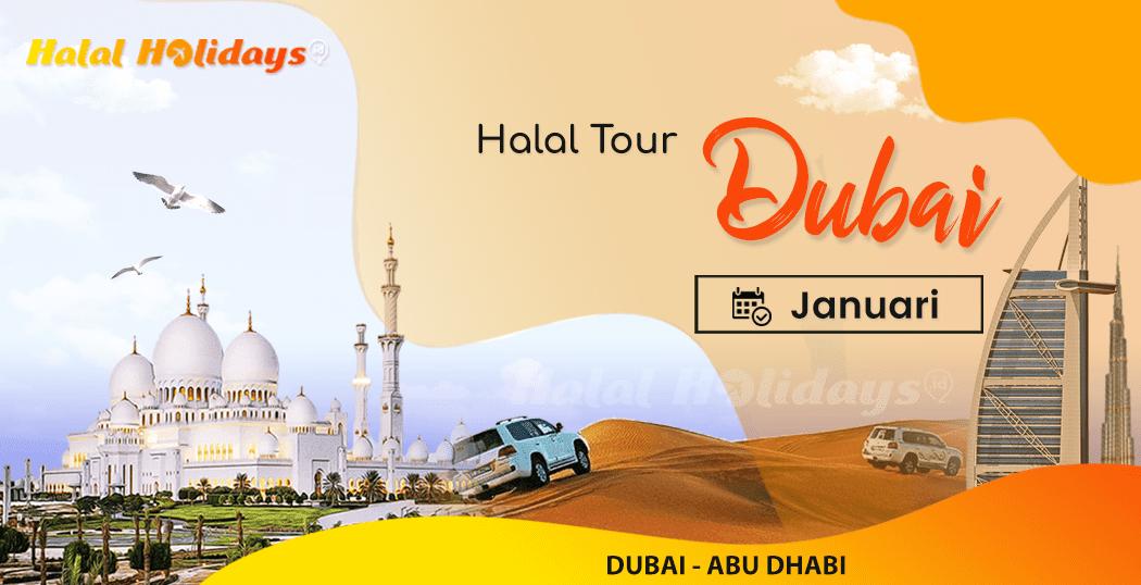 Paket Wisata Halal Tour Dubai Abu Dhabi Murah Januari 2022