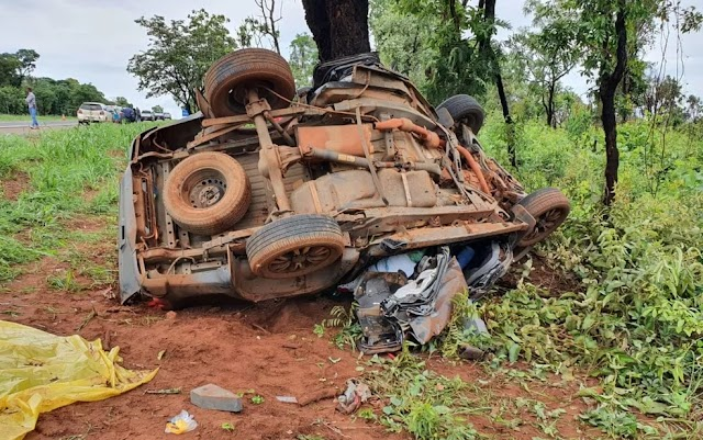 Jataí: Tragédia na BR-364 deixa três mortos e duas crianças em estado grave