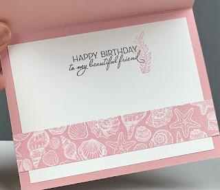 Stampin' Up! Friends Are Like Seashells Card ~ January-June 2021 Mini Catalog ~ www.juliedavison.com #stampinup