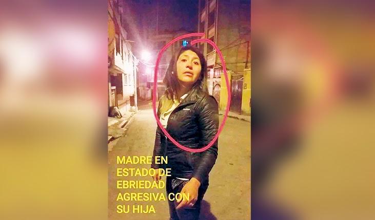 Policía cibernética aprehende a una mujer que golpeaba a su hija de cuatro años