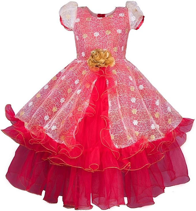 My Lil Princess Baby Girls Birthday Frock Dress_Disney Purple Frock_4-10 Years