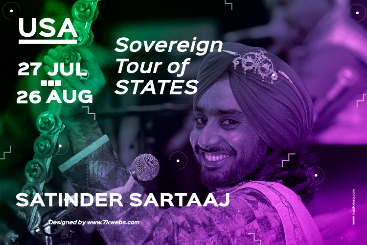 Satinder Sartaaj Live in USA