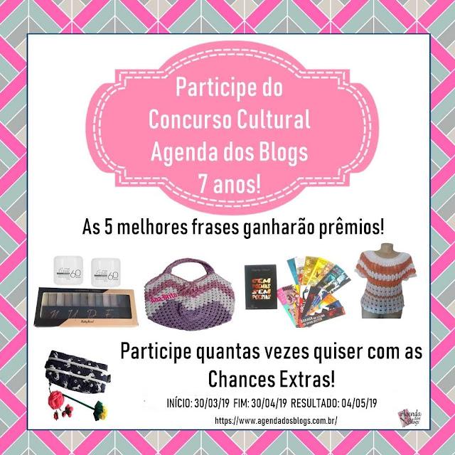 Concurso cultural Agenda dos Blogs