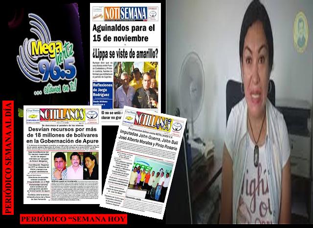 CLASE VIRTUAL: Periodista Saday Flores relató por qué no hay medios impresos en Apure-Venezuela. (VÍDEO).