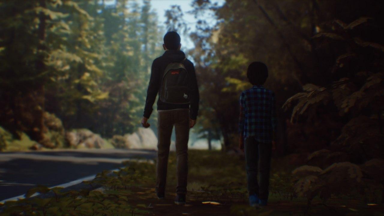 LIS 2: Sean és Daniel sétálnak az út mellett.