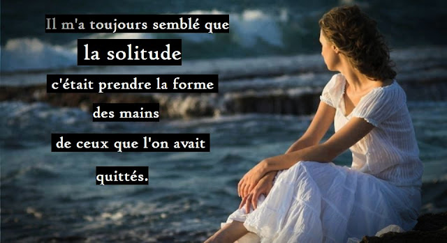 Citation d'amitié sur la solitude