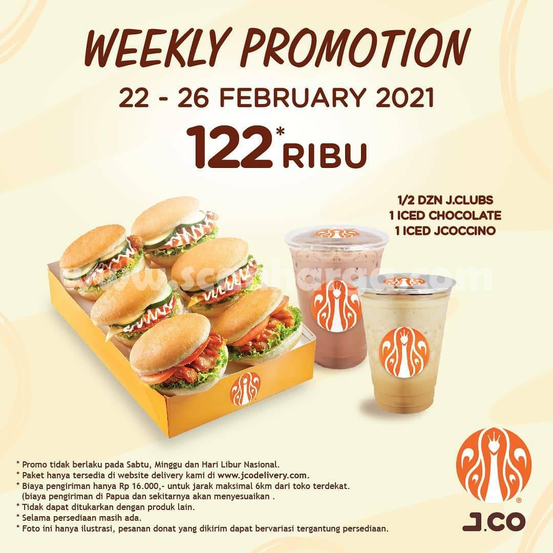 Promo JCO Diskon Terbaru 22 - 26 Februari 2021