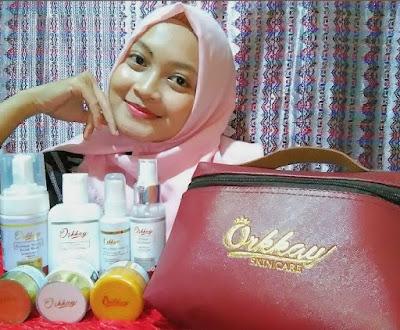 paket premium white glow orkkay skin care