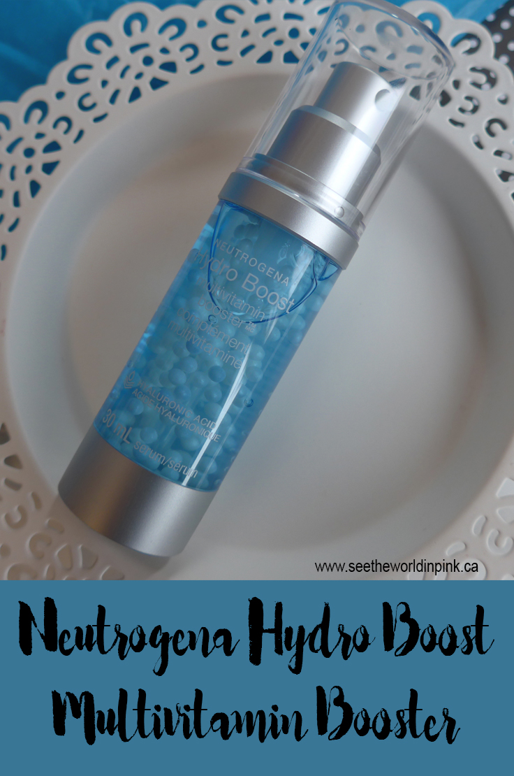 Skincare Sunday - Neutrogena Hydro Boost Multi-Vitamin Booster