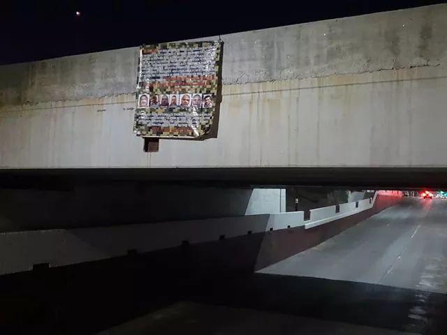 CJNG coloca Mantas en todo Guanajuato, ofrecen 500 mil por El Marro