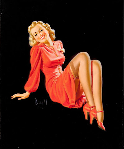 Al Buell pin up art