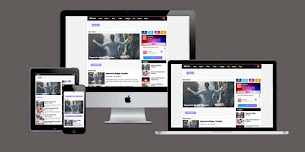 Mocca Theme Responsive Blogger Template