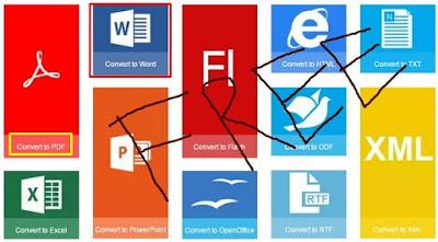 Merubah Word Menjadi Format PDF di HP dan PC