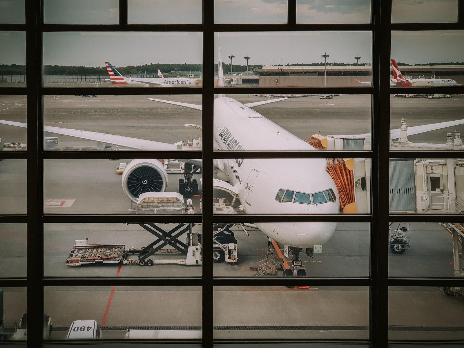 飛紐約的日航頭等艙