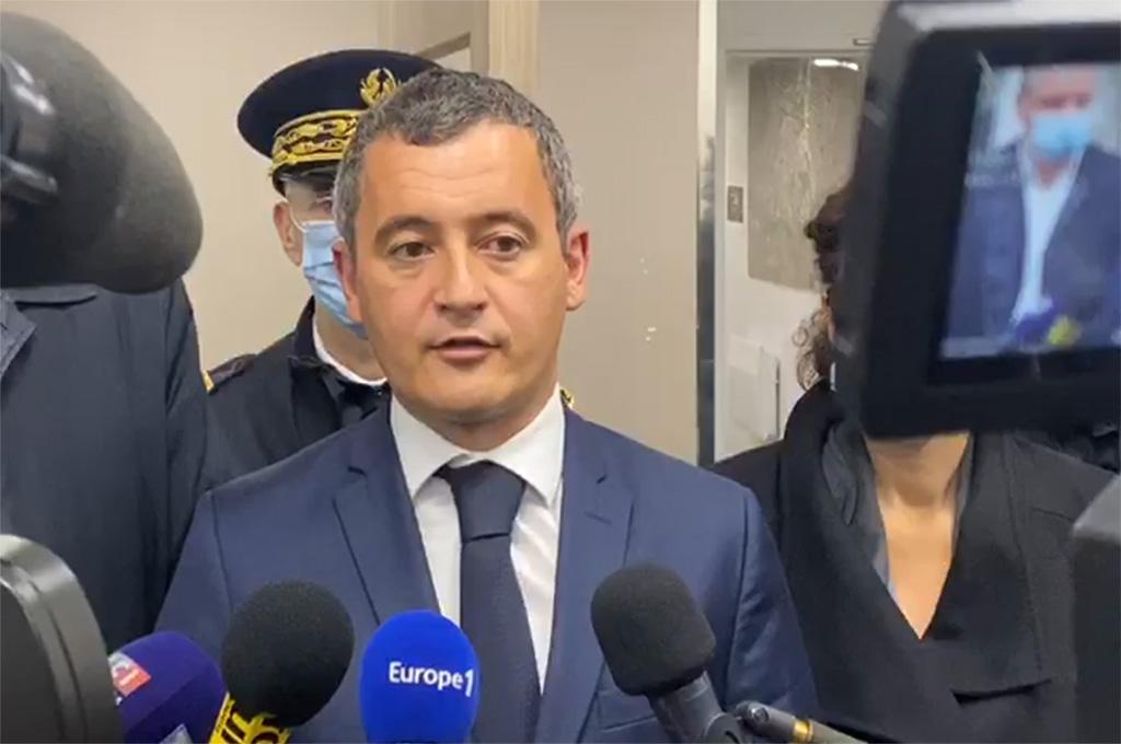 Attaque du commissariat de Champigny-sur-Marne (94) : Gérald Darmanin veut interdire la vente des mortiers d'artifice sur internet