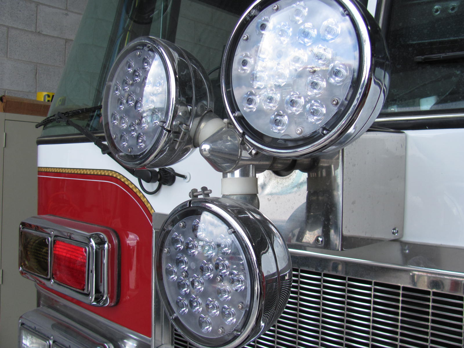 Fire Line Equipment Led Warning Light Upgrades