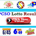 PCSO Lotto Result July 19 2019