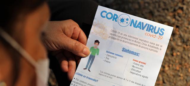 La ONU en Venezuela ayuda a dar información fiable y lucha contra las noticias falsas.OCHA/Germa Cortes