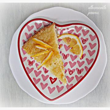 Glazed Meyer Lemon  Cake