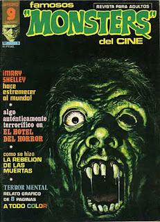 Famosos Monsters del Cine 5 - Portada, la mítica revista del cine de terror.