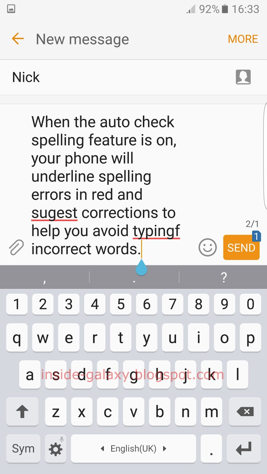 Samsung Galaxy S7 Edge: How to Enable and Use Auto Check