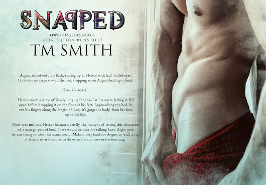 SNAPPED by TM Smith Blog Tour