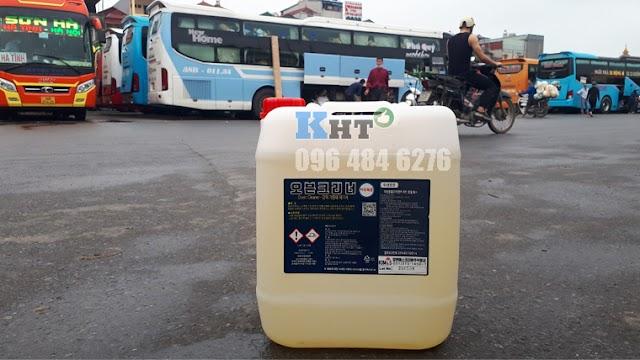 Hóa chất tẩy dầu mỡ thực phẩm Oven Cleaner nhập khẩu Hàn Quốc