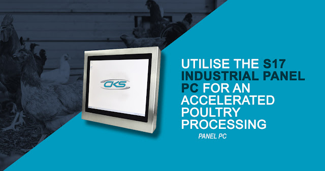 Optimising Poultry Meat Processes Using S17 Panel PCs