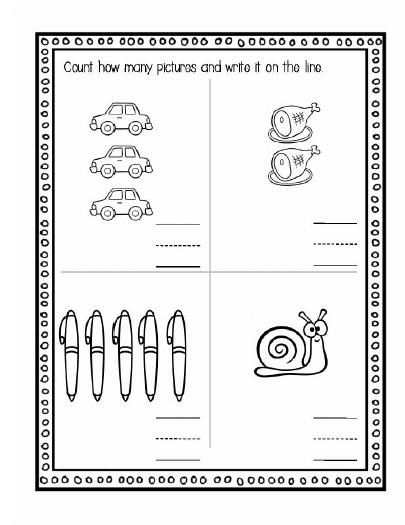 اوراق عمل الجمع في الرياضيات للصف الاول
