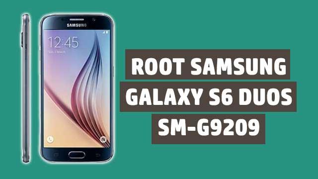 Cómo ROOTEAR Samsung Galaxy S6 Duos SM-G9209