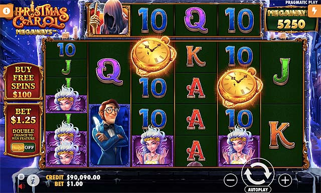 Ulasan Slot Pragmatic Play Indonesia - Christmas Carol Megaways Slot Online