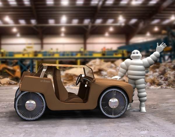 kereta diperbuat daripada kadbod