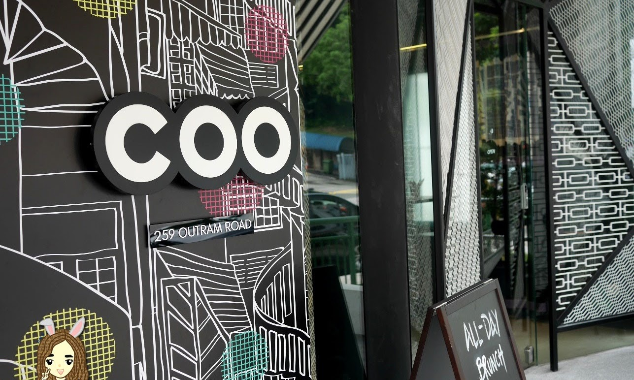 Eating at newly opened COO Bistro & Boutique Hostel in Tiong Bahru