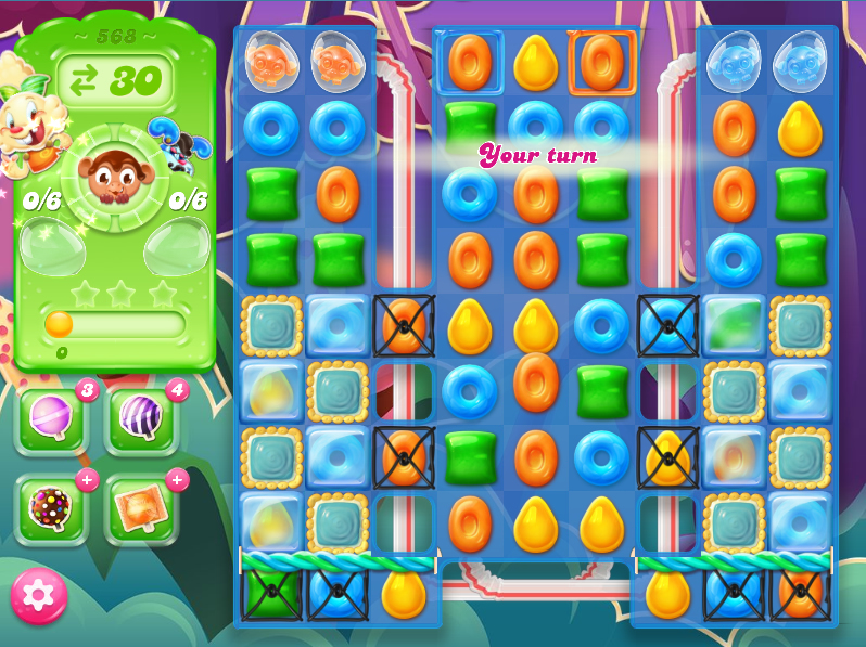 Candy Crush Jelly Saga level 568