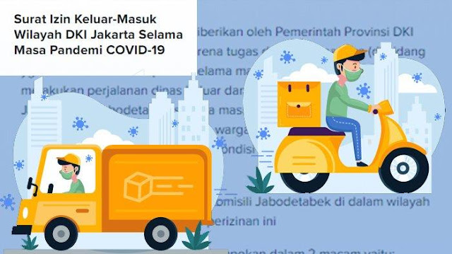 Saat Lebaran, Permohonan Surat Izin Keluar Masuk Jakarta Tetap Dilayani