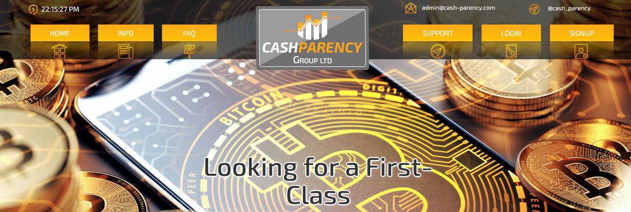 Мошеннический сайт cash-parency.com – Отзывы, развод, платит или лохотрон? Информация