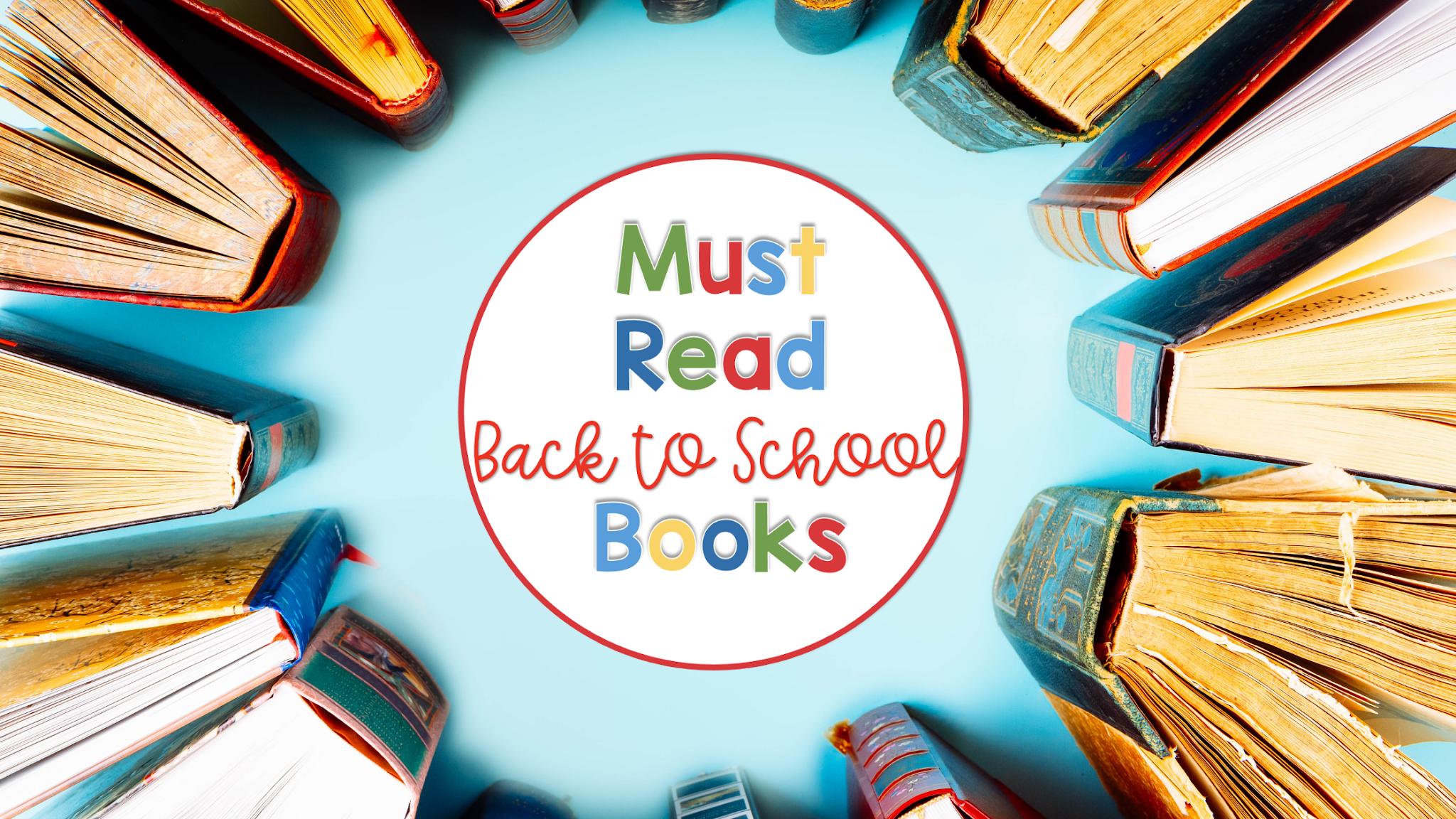 best back to school read aloud books