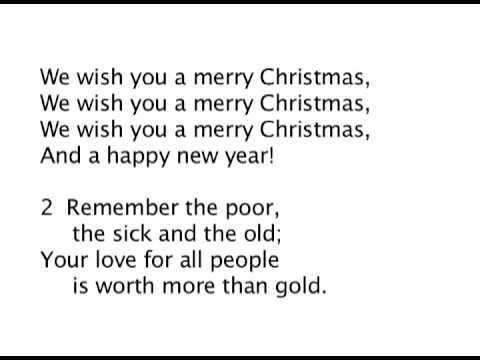 Merry Christmas Lyrics