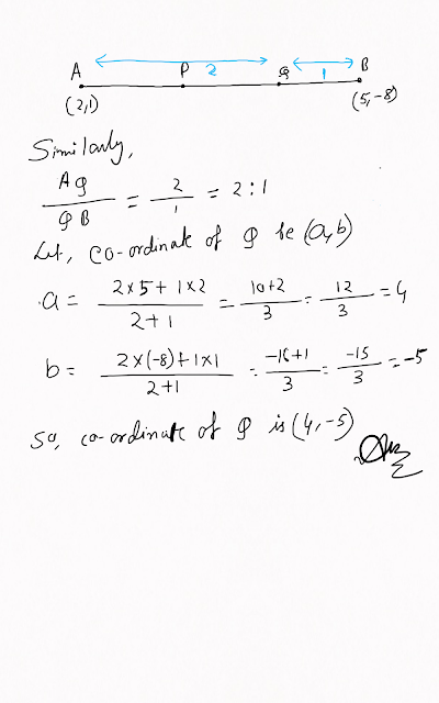 For what value of p are the points (2 ,1) ,(p , -1) and