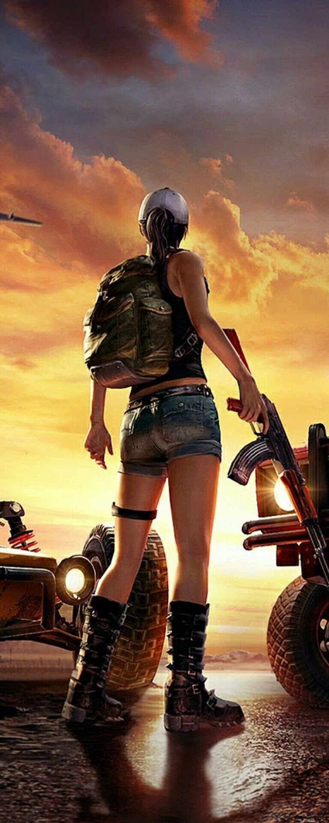 PUBG player hd wallpaper, status ,dp  picture collection for download.