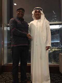 Festus Keyamo Pictured With UAE Ambassador, Dr. Fahad In Dubai (photo)