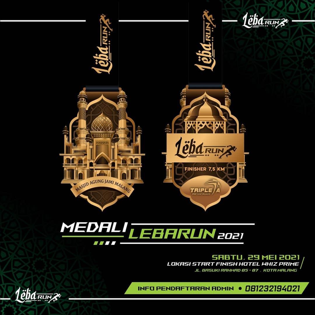 Medali � Rindu Kampung Halaman LebaRun • 2021