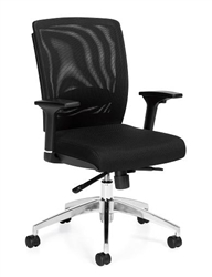 Mesh Back Cubicle Chair