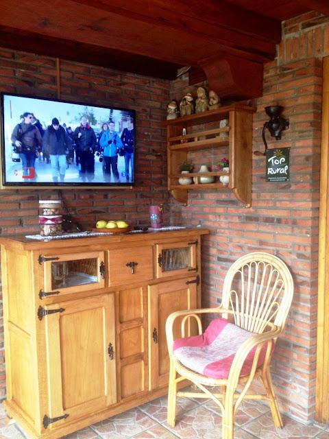 Televisión nueva en el comedor sur de Avemar